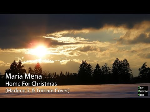 Maria Mena - Home For Christmas (Marlene S. & Trimare Cover)