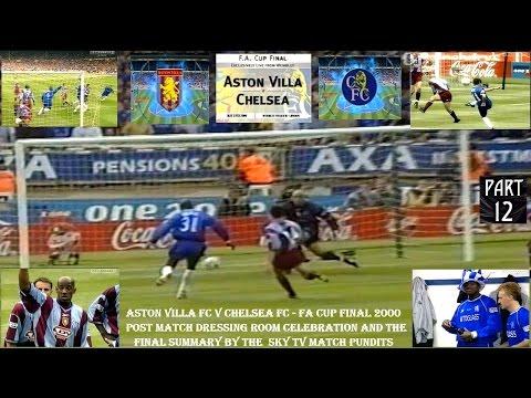 ASTON VILLA FC V CHELSEA FC - FA CUP FINAL 2000 - CHELSEA DRESSING ROOM CELEBRATION - PART TWELVE