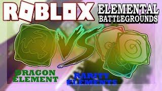 Video DRAGON Element VS Rarity Elements! | Roblox Elemental Battleground download MP3, 3GP, MP4, WEBM, AVI, FLV Oktober 2018