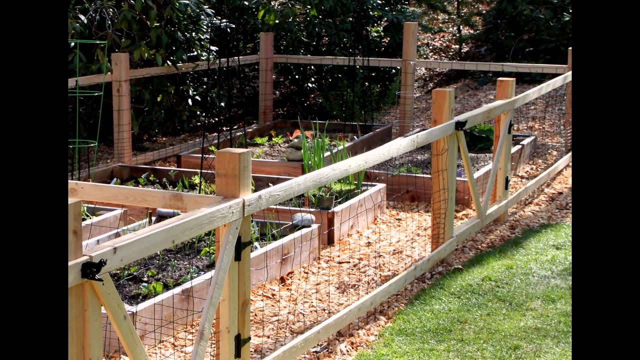 Superior How To Build A Garden Fence 2015