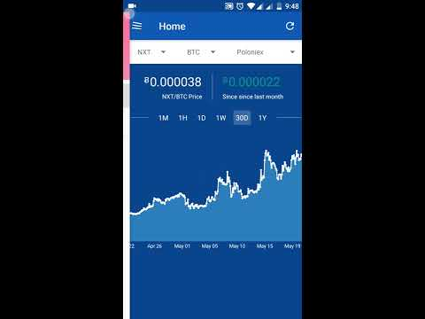 Bitcoin Price Tracker App - ACrypto