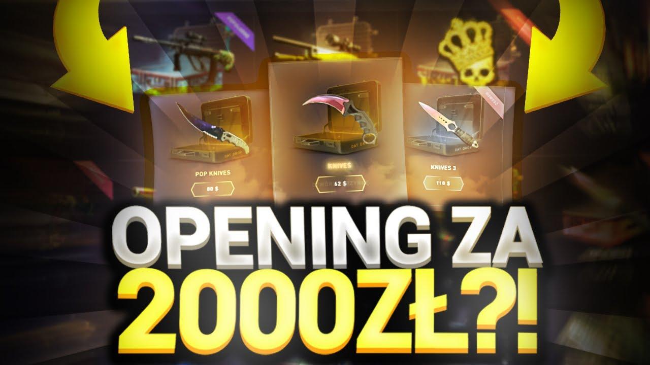 OPENING SKRZYNEK ZA 2000ZŁ?!