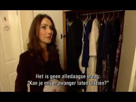 Kate Middleton look-alike in magazine Royalty on Belgian television VTM