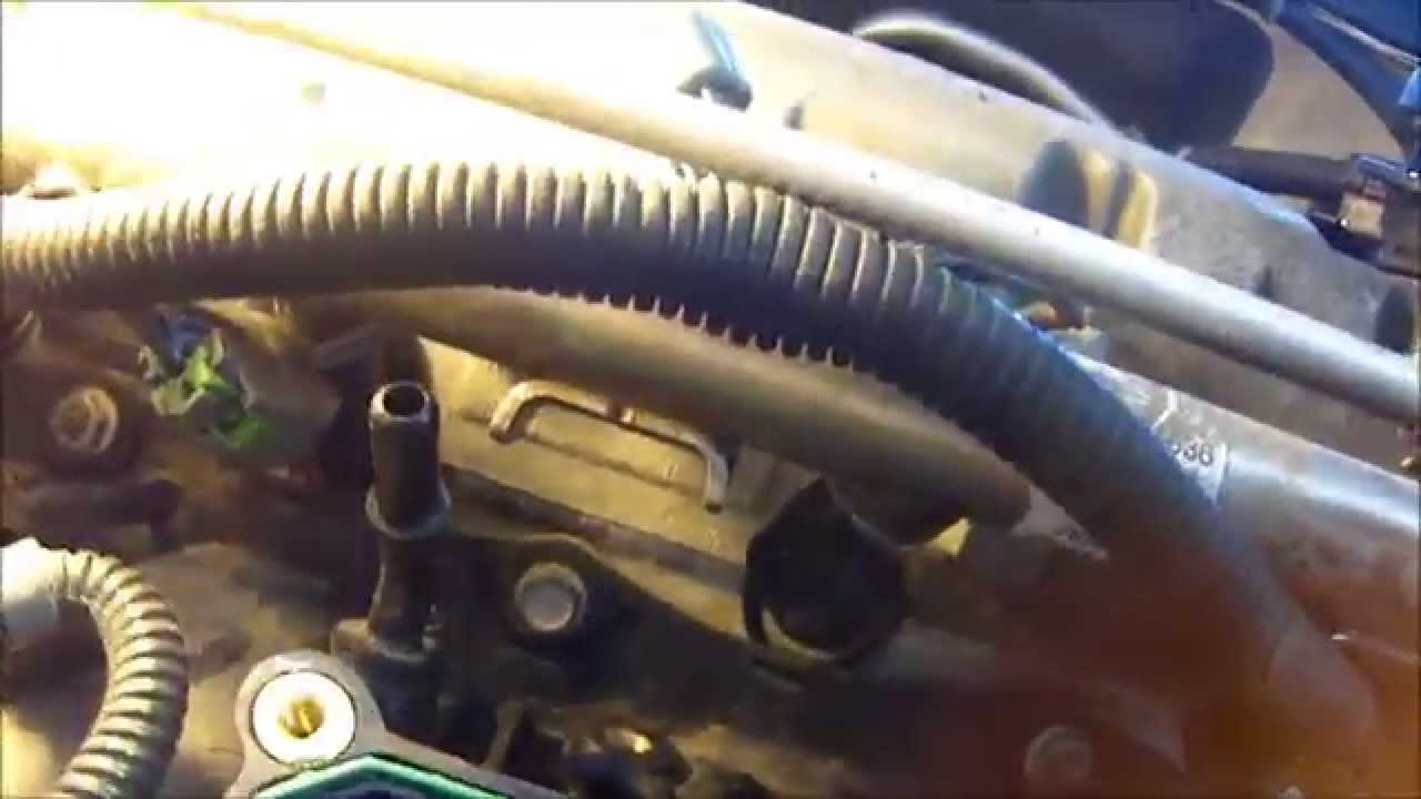 HOW TO CLEAN YOUR THROTTLE BODY CHEVY COBALT 2007  YouTube