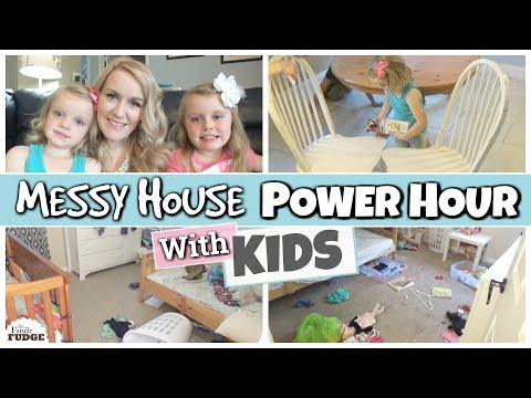 POWER HOUR || Family Style CLEAN WITH ME || SPEED CLEANING