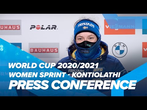 Kontiolahti Women Sprint 2 Press Conference