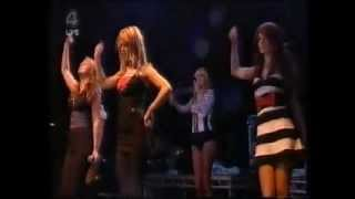Girls Aloud biology & watch me go & wake me up v festival 19.8.06