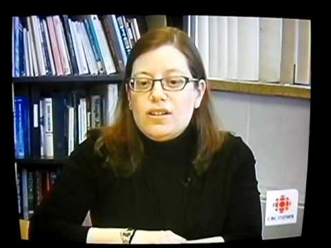 Cara Zwibel from The Canadian Civil Liberties Association is interviewed by the CBC