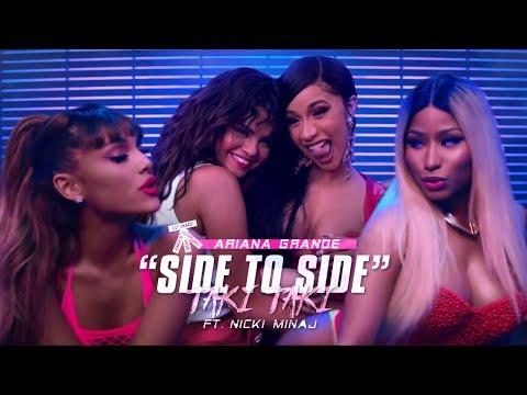 TAKI TO SIDE 🌋 - DJ Snake, Ariana Grande, Selena Gomez, Nicki Minaj, Cardi B & Ozuna (Mashup) | MV