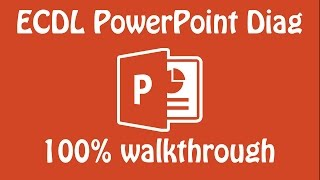 ECDL PowerPoint Mock DIAG 2016-17 100% walkthrough