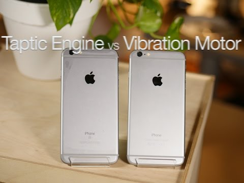 iPhone 6s Plus Taptic Engine vs iPhone 6 Plus Vibration Motor