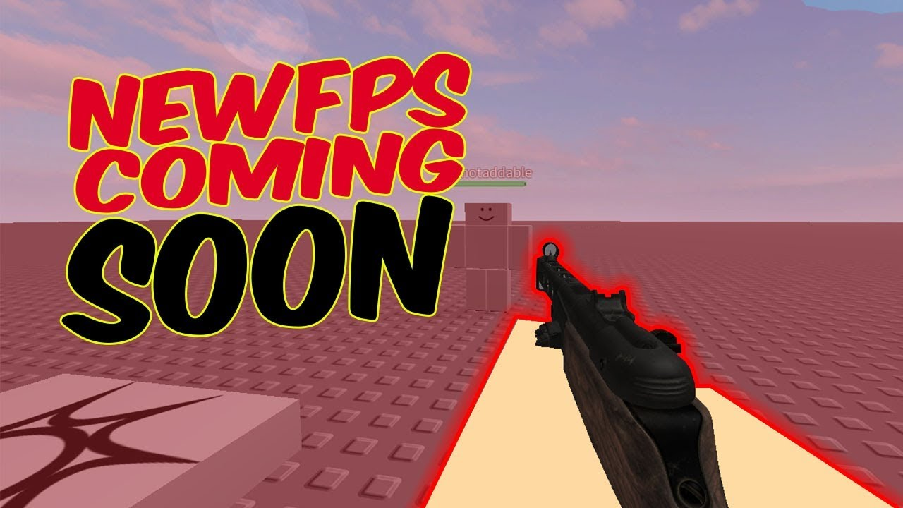 New Fps In Development No Game Name Roblox Youtube
