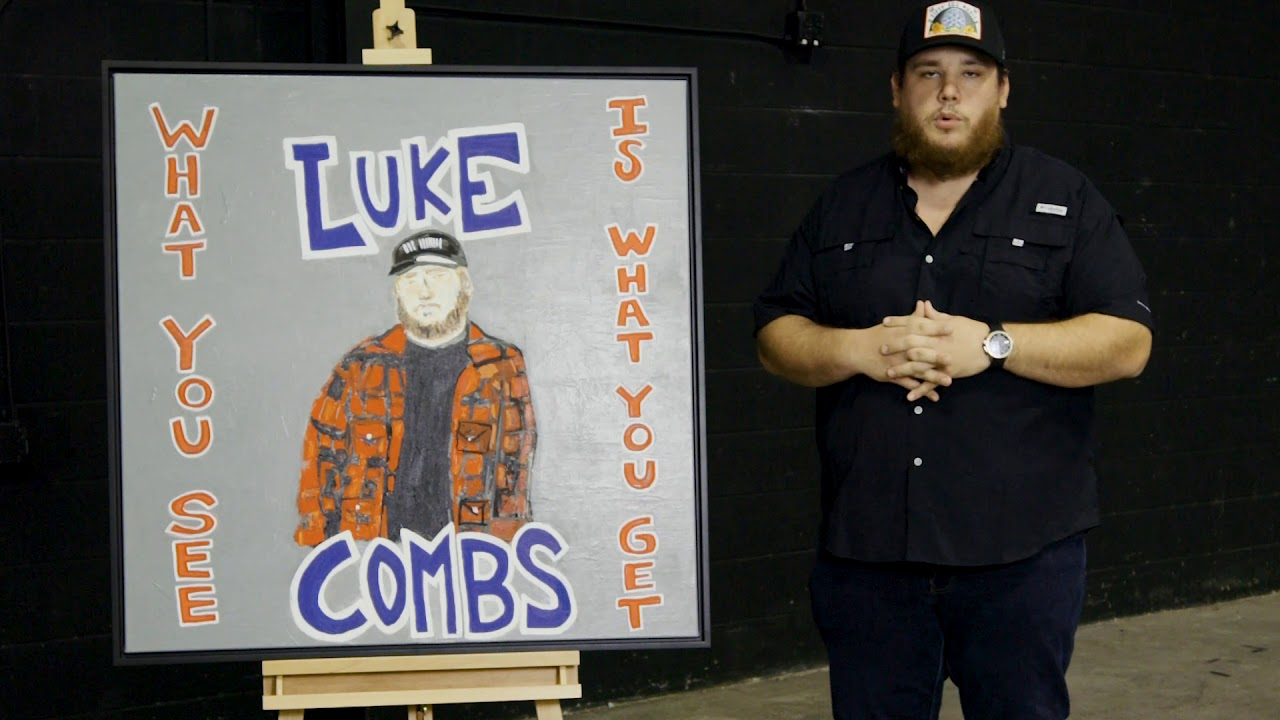 Luke Combs Announces New Album What You See Is What You Get Reveals Album Art Whiskey Riff