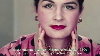 History of Makeup - The 1950s Thumbnail