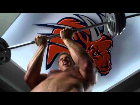 Thad Castle workout - Blue Mountain State