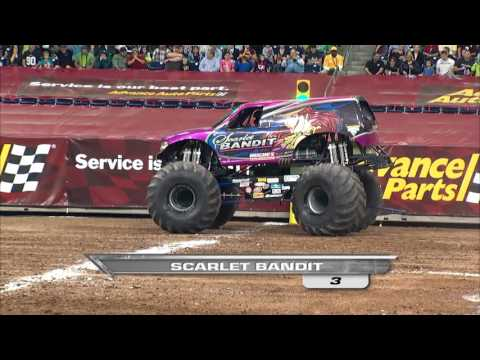 Monster Jam in Reliant Stadium - Houston, TX 2012 - Full Show - Episode 6