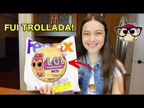 ABRINDO LOL PETS - FUI TROLLADA!
