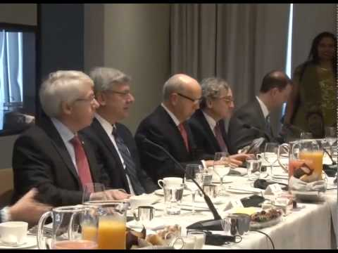PM Modi at the Round Table Meeting with major pension fund managers of Canada