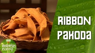 How To Make Ribbon Pakoda (Rice & Gram Flour Farsan) || Diwali Recipes || Dakshin Curry