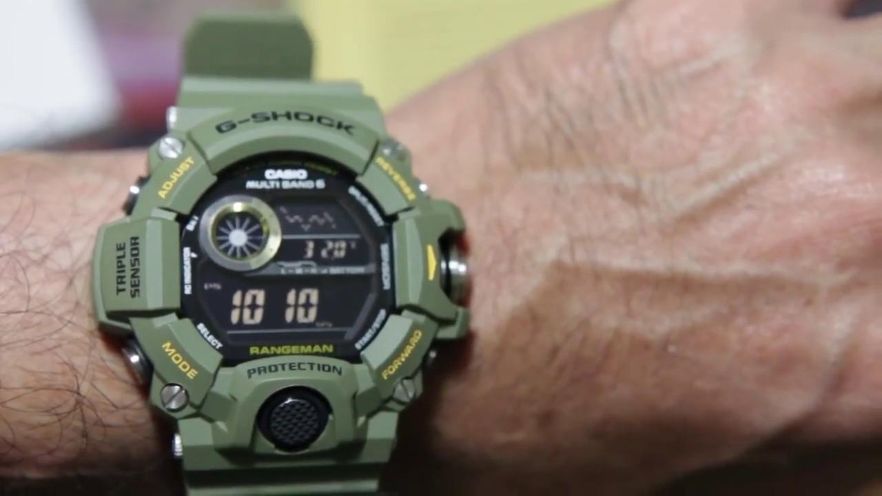 Casio G-shock Rangeman GW-9400-3 - YouTube 5878944cf9
