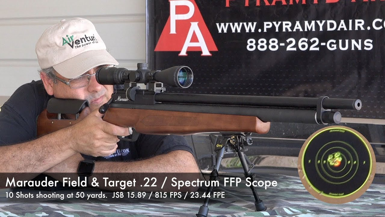 Benjamin Marauder Field and Target  22 Affordable, Accurate, Consistent -  Review by AirgunWeb
