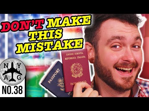 Traveling With Two Passports - I Almost Got Arrested | Jure Sanguinis Italian Dual Citizenship