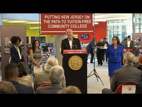 New Jersey Takes 1st Step Toward Free Community College