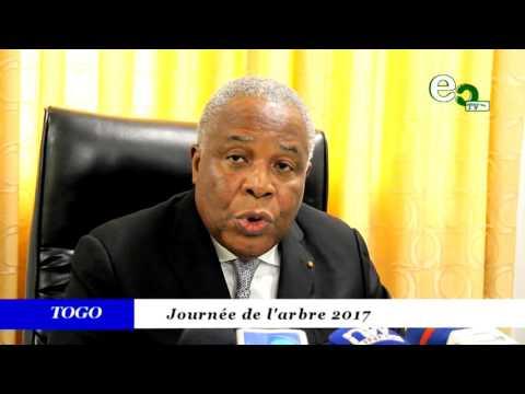 Journée de l'arbre 2017: le Ministre André Johnson invite les togolais à reboiser