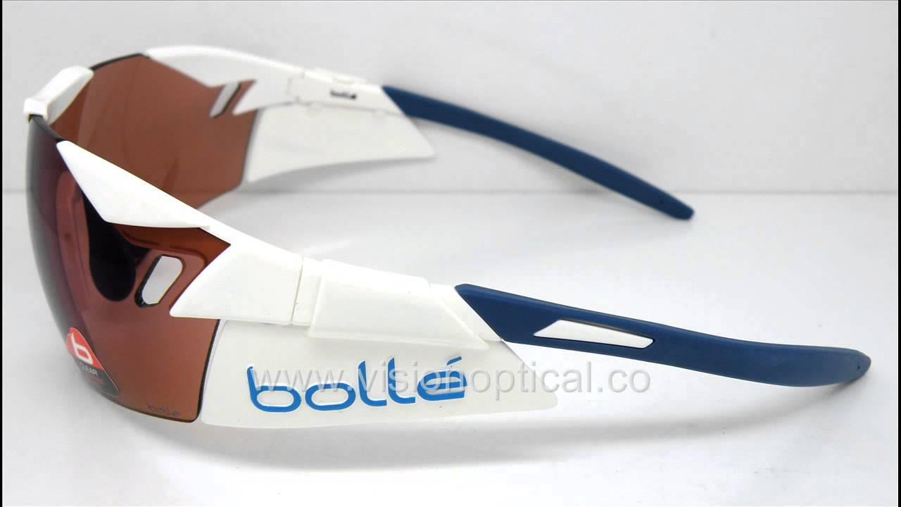563d54e20555 Bolle 6th Sense Shiny White Blue Rose 太陽眼鏡 - YouTube