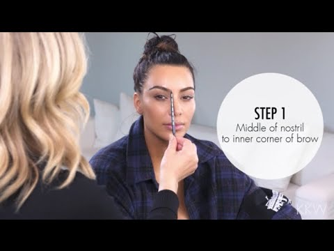 [FULL VIDEO] Kim Kardashian | Getting My Eyebrows Done Ft. Anastasia Beverly Hills