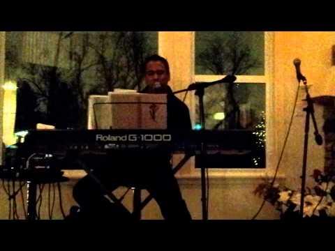 Khaled Suman covering Amar Khobor Aajo Rakho LIVE