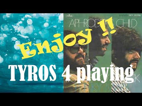 DEMIS ROUSSOS 3/11 - It's five o'clock 5 INSTR. COVER TYROS PSR GENOS by Wonfoli @ piano