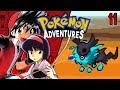 Pokemon Adventures Red Chapter Part 11 - NEW EEVEELUTIONS WHAT! Rom hack Gameplay Walkthrough