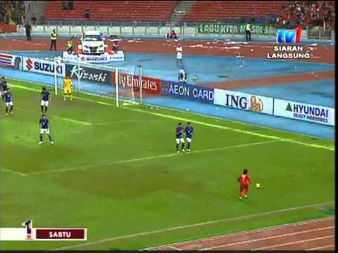 Malaysia Vs Indonesia  (2-0) AFF Suzuki Cup 2012 Full Review