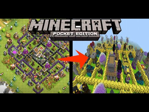 minecraft clash of clans maps
