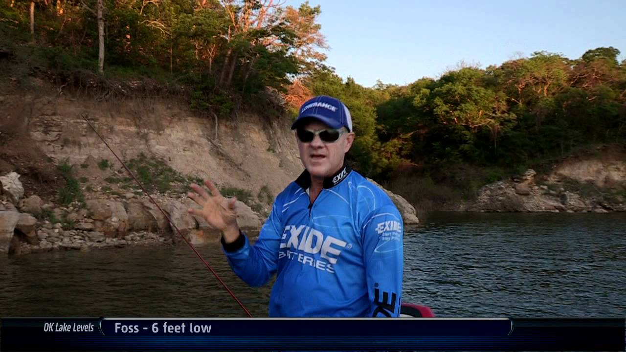 Lake texoma smallmouth bass fishing southwest outdoors for Lifetime fishing license ok