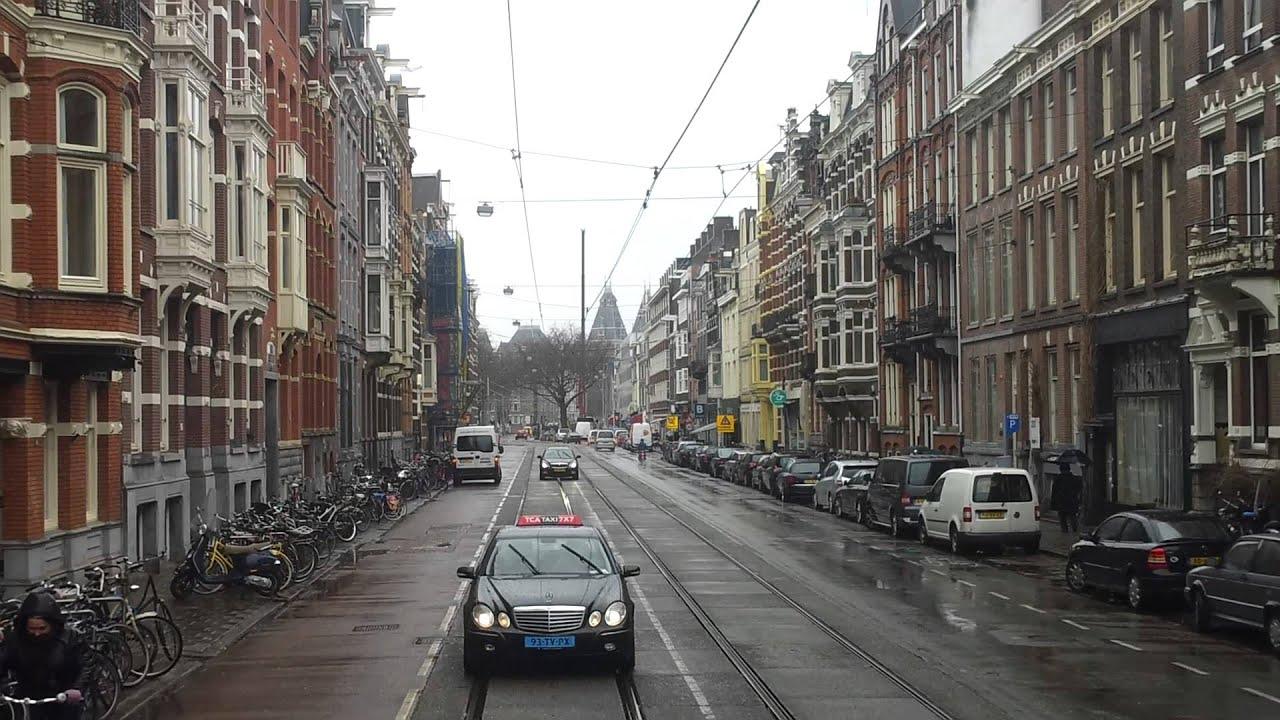 gvb amsterdam tramlijn 7 van mercatorplein tot