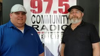 Jon Cyr - 97 5 Radio Interview  - Wolf's Den Hosted by: Wayne Schnare