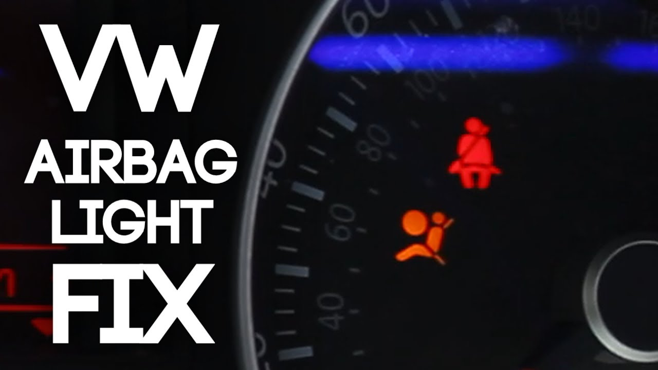 Fix Your Volkswagen Airbag Light! (For Codes 01217 and 01218)