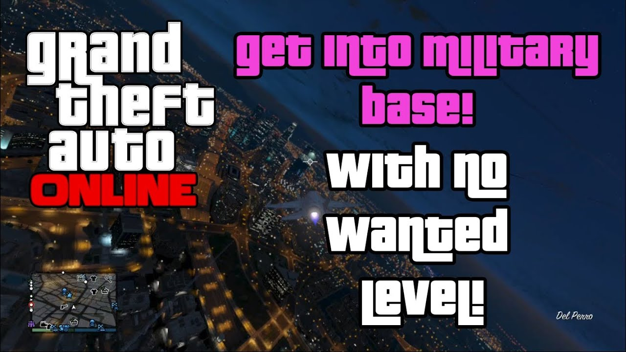 GTA Online: Extremely Easy Way To Break Into Military Base