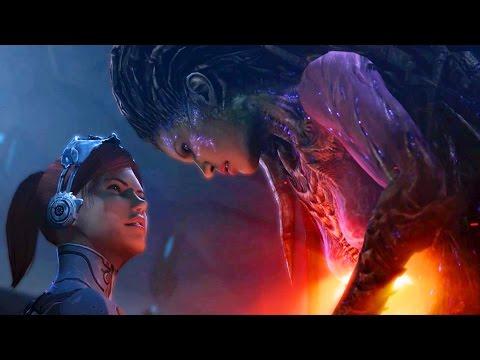 Phantoms of the Void: Kerrigan and Stukov Kill Narud (Starcraft 2: Heart of the Swarm)