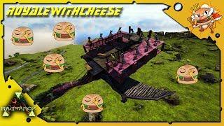 The Most Amazing Quetzal Platform Tranq Turret Fail Deal - ARK: RAGNAROK [DLC GAMEPLAY E78]