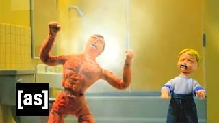 Don't Flush | Robot Chicken | Adult Swim
