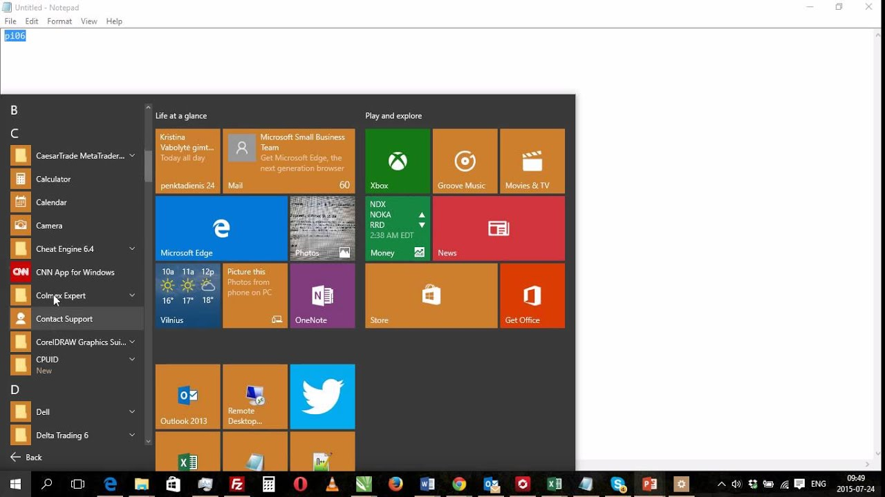 how to close apps windows 10