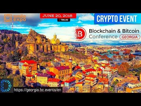 Blockchain & Bitcoin Conference Georgia -The 1st International Conference In Georgia -Digital Notice