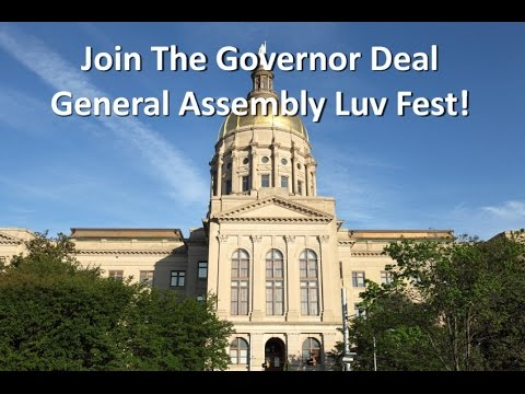 2015 Georgia General Assembly Governor Luv Fest