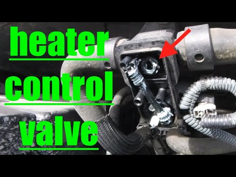 QUICK FIX NO HEAT Diagnose Heater Control Valve Nissan Armada √ Fix It Angel