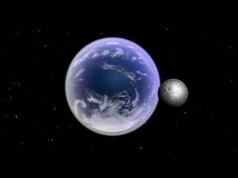3ds Max   Earth and Moon Rotation Animation