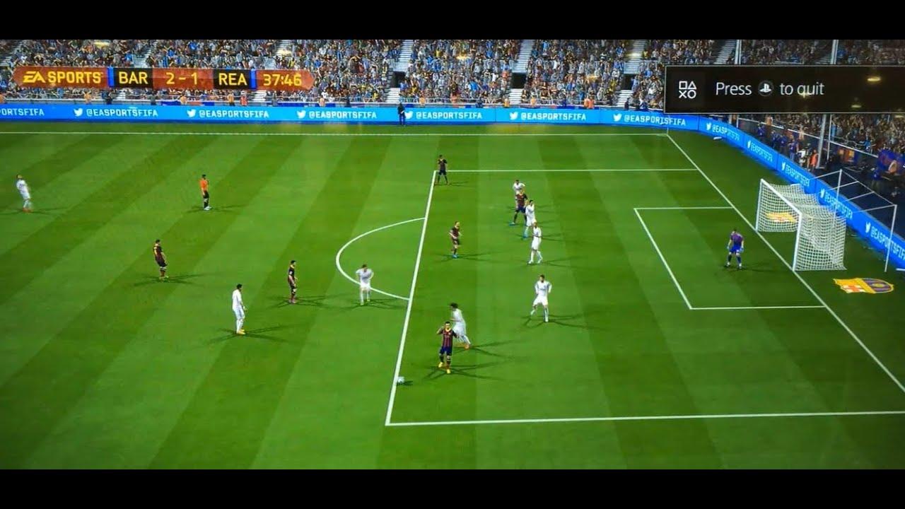ps4 fifa 14 gameplay   bar vs rea 1080p hd   youtube
