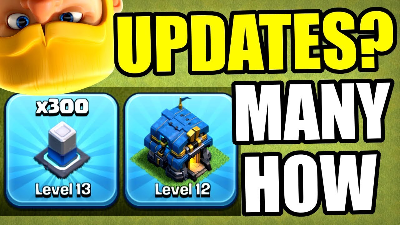 HOW MANY CLASH OF CLANS UPDATES LEFT IN 2019!